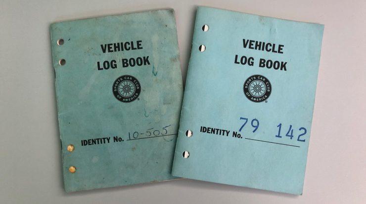 Ford Mustang Trans Am Log Books