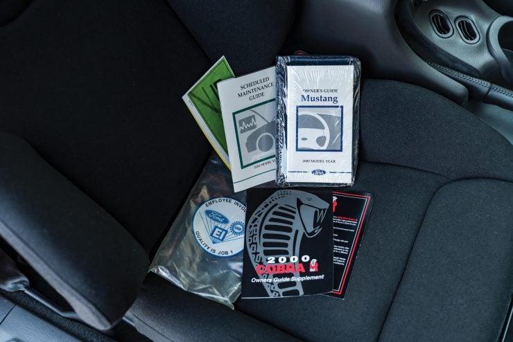 Ford SVT Mustang Cobra R Documentation