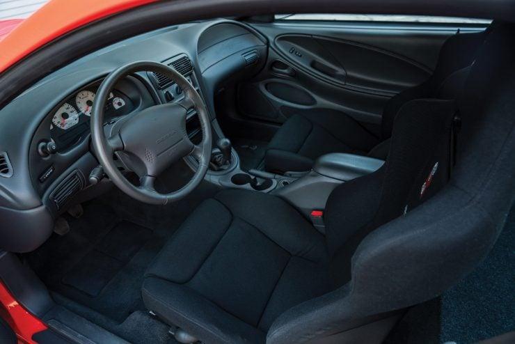 Ford SVT Mustang Cobra R Interior 2