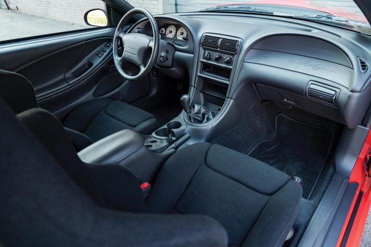 Ford SVT Mustang Cobra R Interior