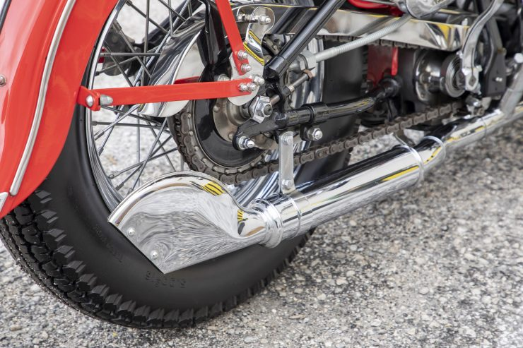 Harley-Davidson WLA Fish Tail Exhaust
