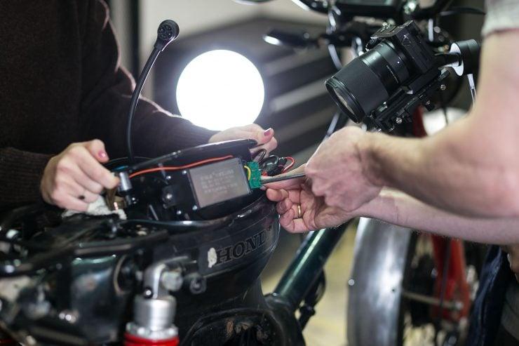 Honda eCub Electric Bike 10