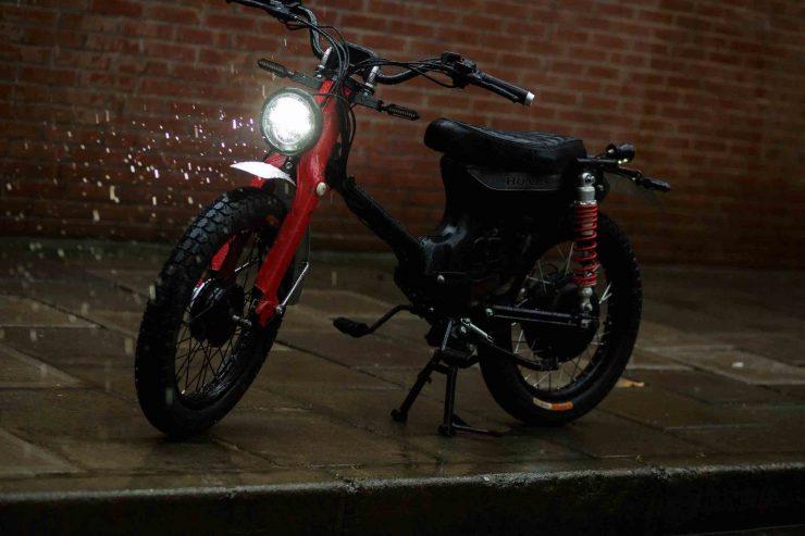 Honda eCub Electric Bike 4