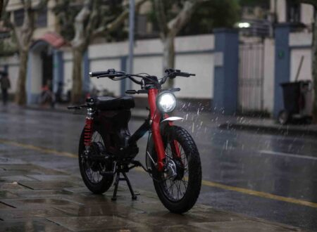 Honda eCub Electric Bike