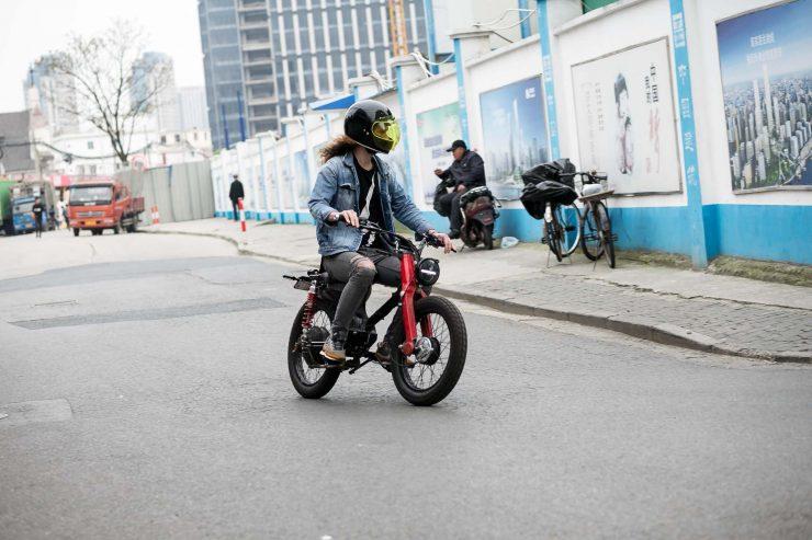 Honda eCub Electric Bike 6
