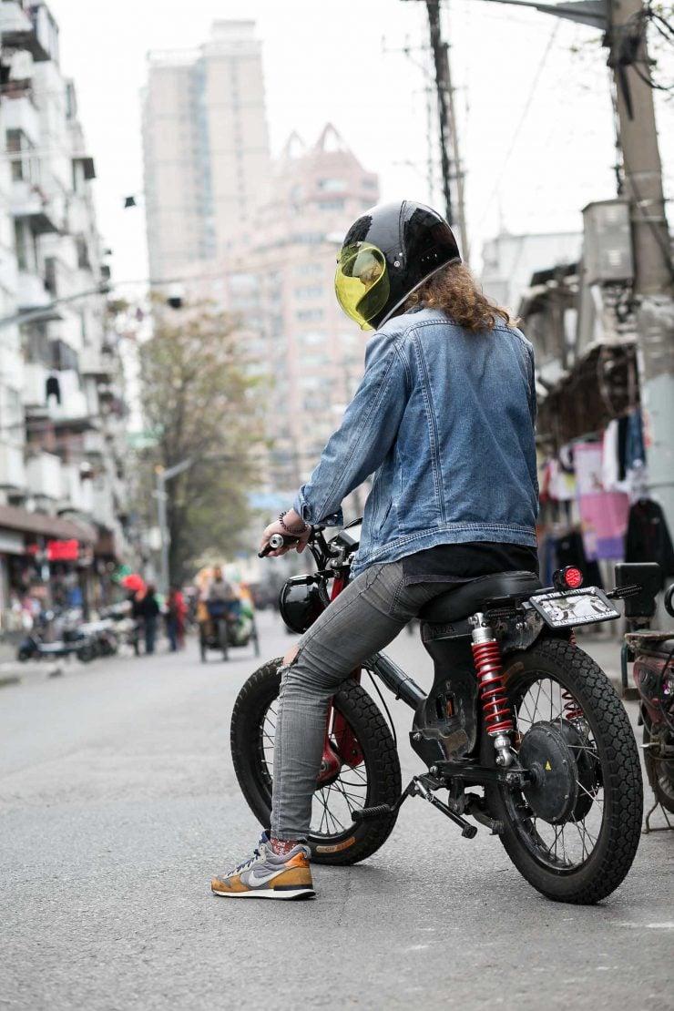 Honda eCub Electric Bike 7