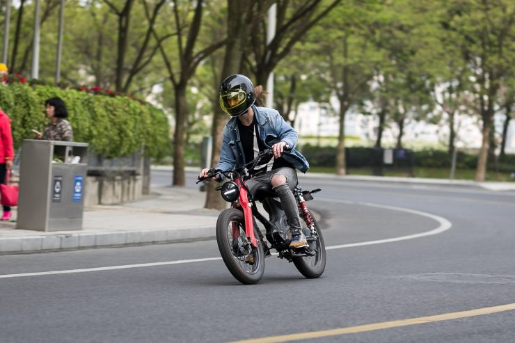 Honda eCub Electric Bike 9