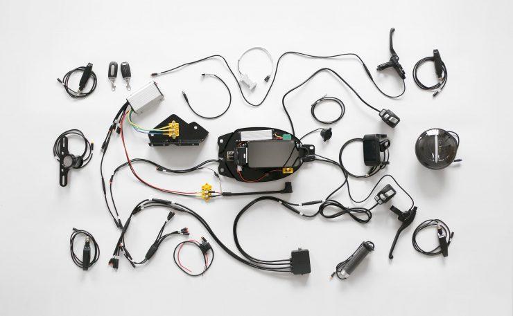 Honda eCub Electric Bike Wiring Loom