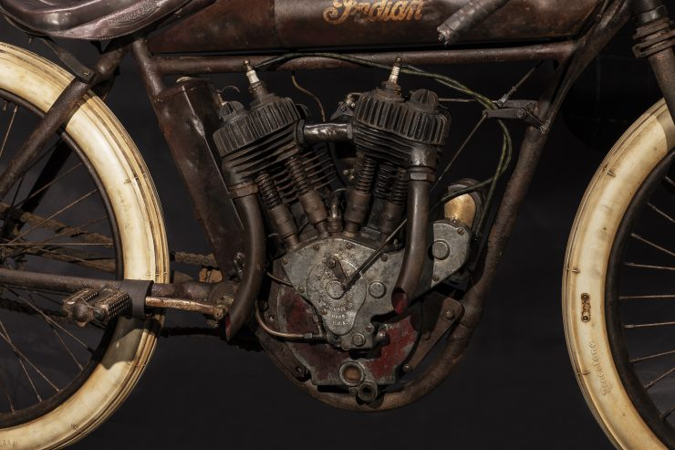 Indian Board Track Racer V-Twin Engine