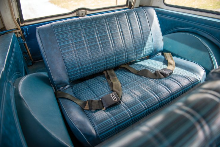 Jeep Commando Back Seat