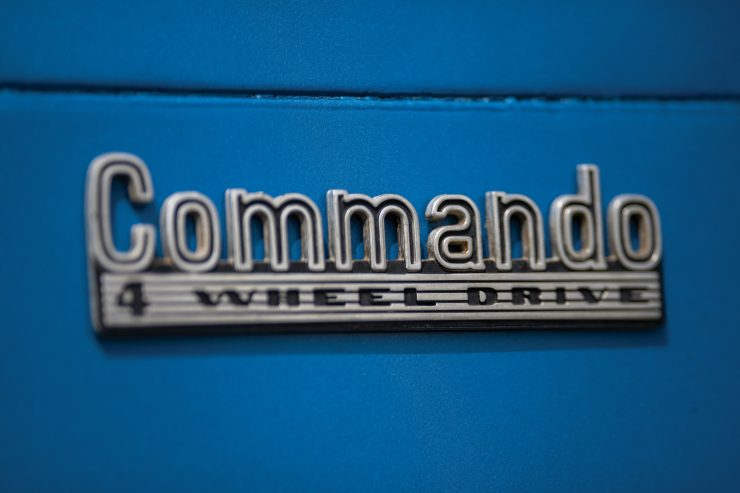 Jeep Commando Badge