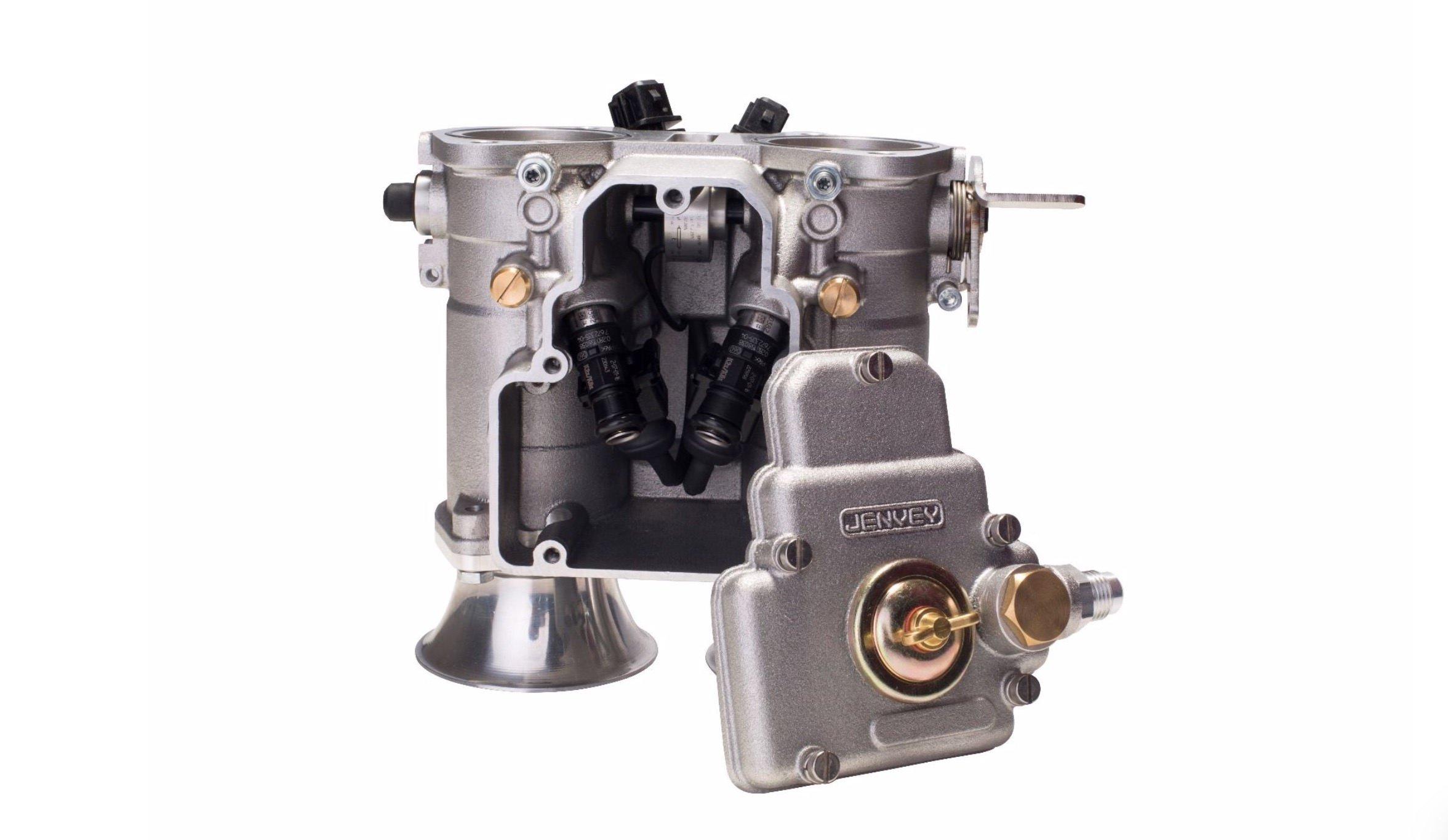 Jenvey Heritage DCOE Throttle Body Open