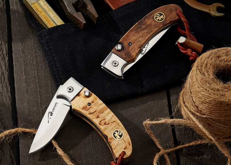Karesuando Nallo Button Lock Folding Knives