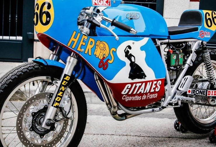 Mash TT 40 Cafe Racer Fairing 2