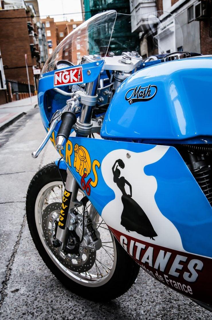 Mash TT 40 Cafe Racer Fairing 3