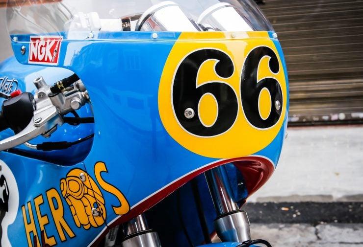 Mash TT 40 Cafe Racer Fairing