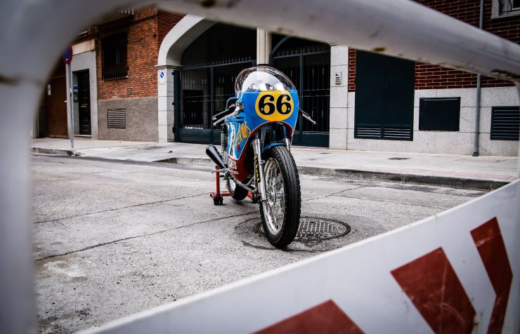 Mash TT 40 Cafe Racer Front