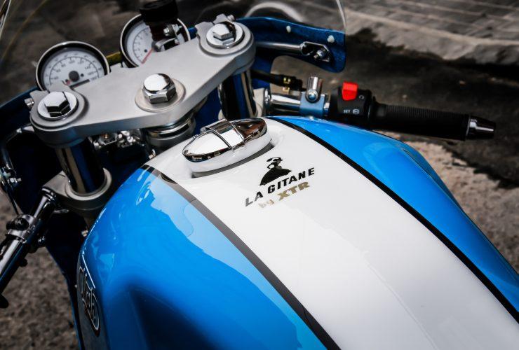 Mash TT 40 Cafe Racer Fuel Tank