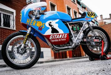 Mash TT 40 Cafe Racer Side