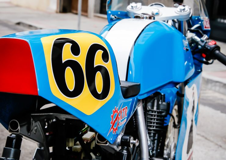 Mash TT 40 Cafe Racer Tail
