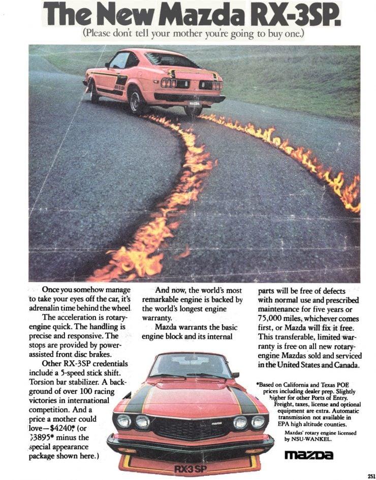 Mazda RX-3 Ad