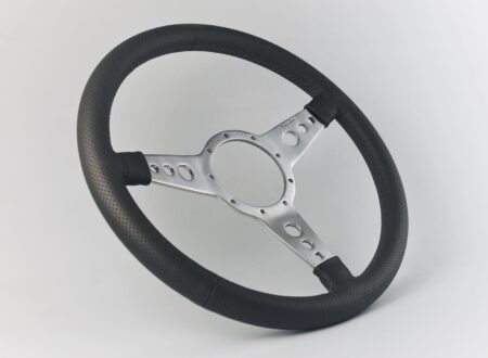 Moto-Lita Mark Four Leather Rim Perforated Steering Wheel