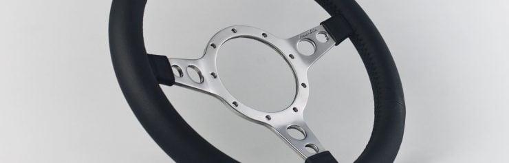 Moto-Lita Mark Four Leather Rim Steering Wheel