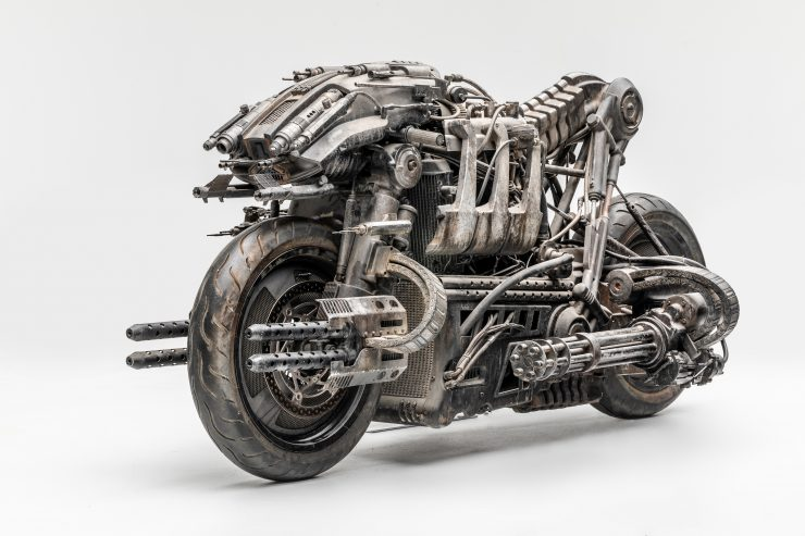 Moto-Terminator - The Ducati Hypermotard Based Terminator Salvation Stunt Bike 1
