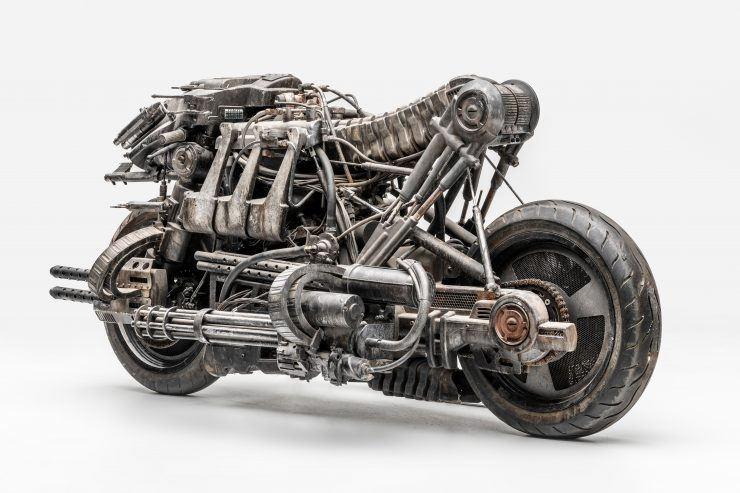 Moto-Terminator - The Ducati Hypermotard Based Terminator Salvation Stunt Bike 2