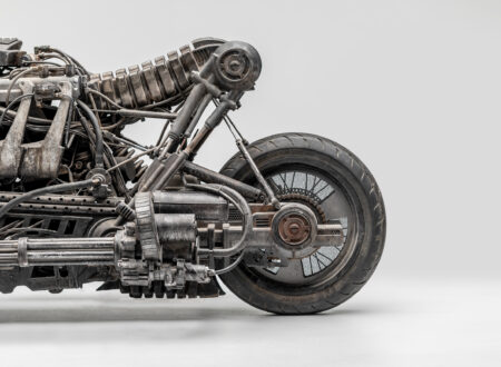 Moto-Terminator - The Ducati Hypermotard Based Terminator Salvation Stunt Bike Rear