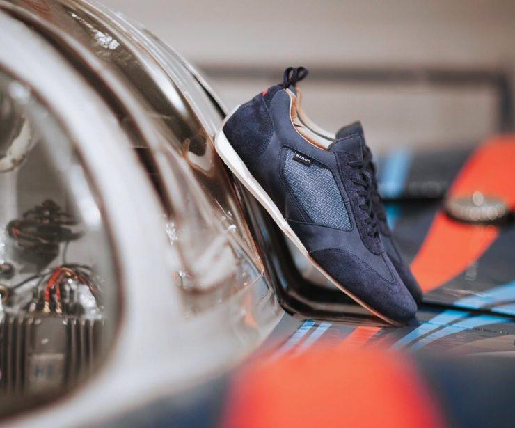 Piloti Endurance Driving Shoe On Car