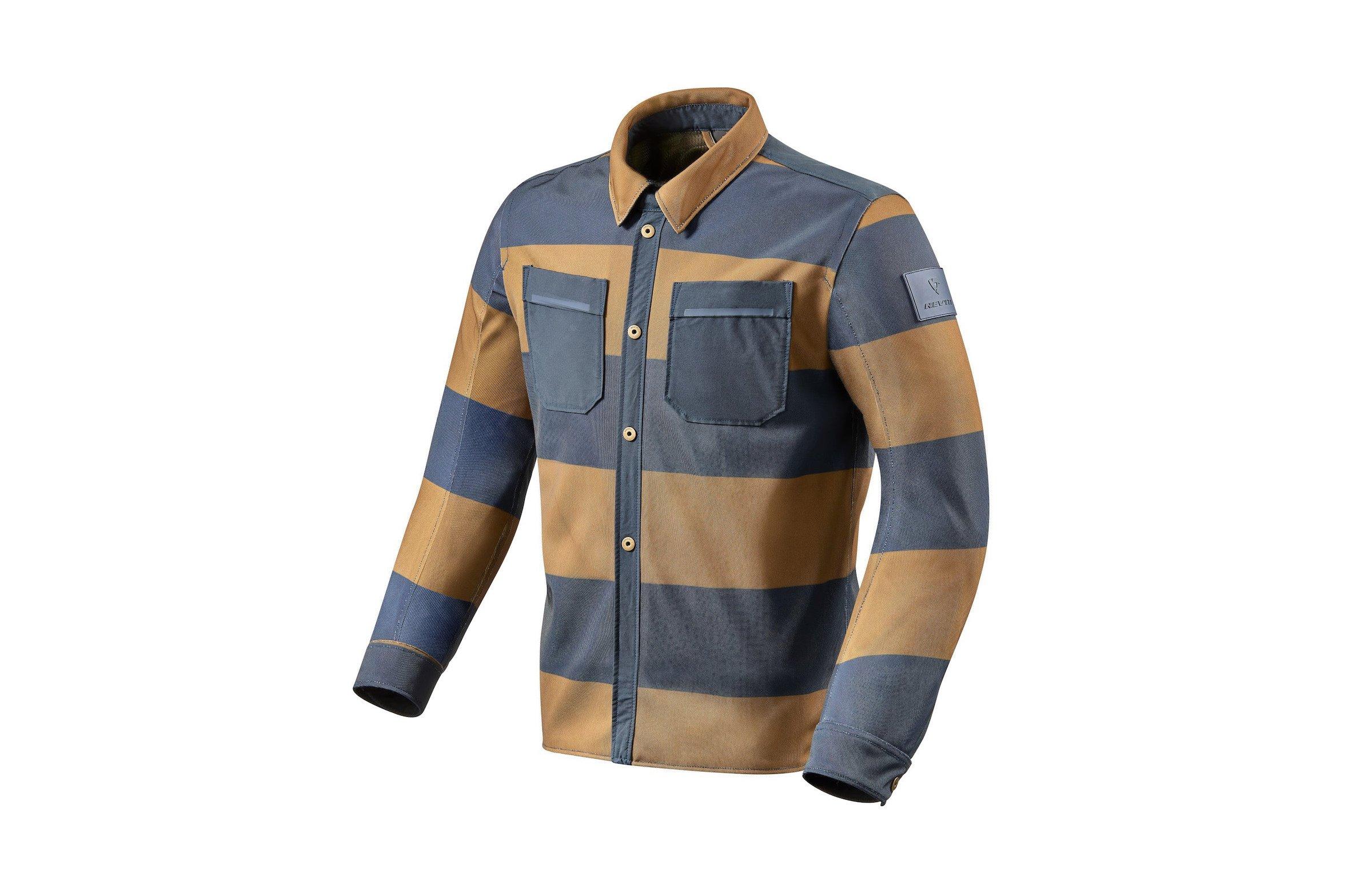 REV'IT Tracer Air Riding Shirt Stripes