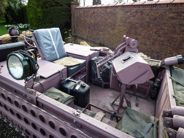 Series 2A SAS Land Rover Pink Panther Back