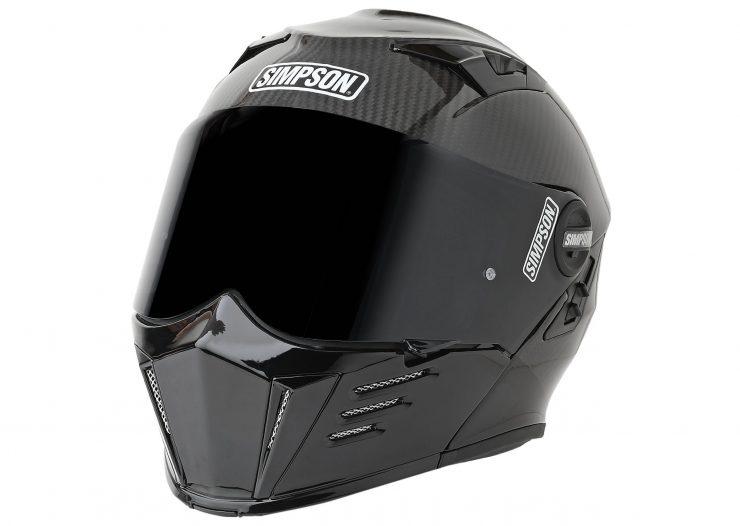 Simpson Mod Bandit Carbon Helmet