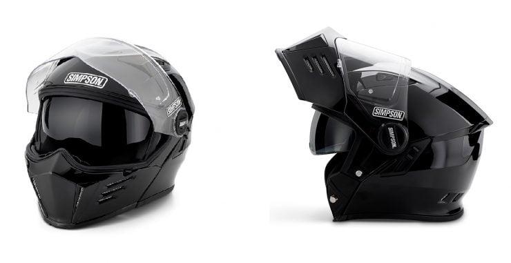 Simpson Mod Bandit Carbon Helmet Details