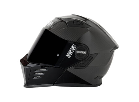 Simpson Mod Bandit Carbon Helmet Side