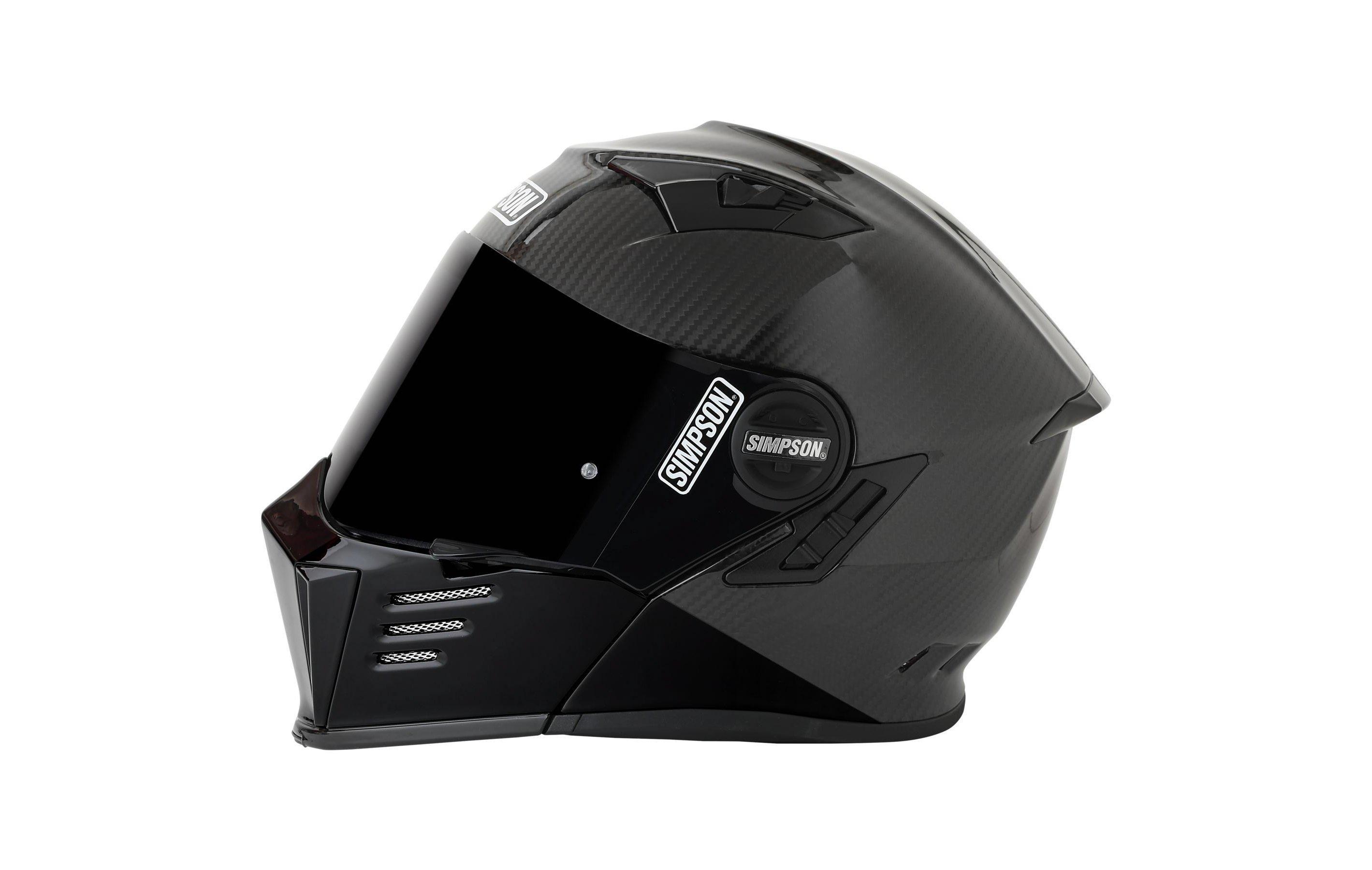 Simpson Mod Bandit Carbon Helmet Side