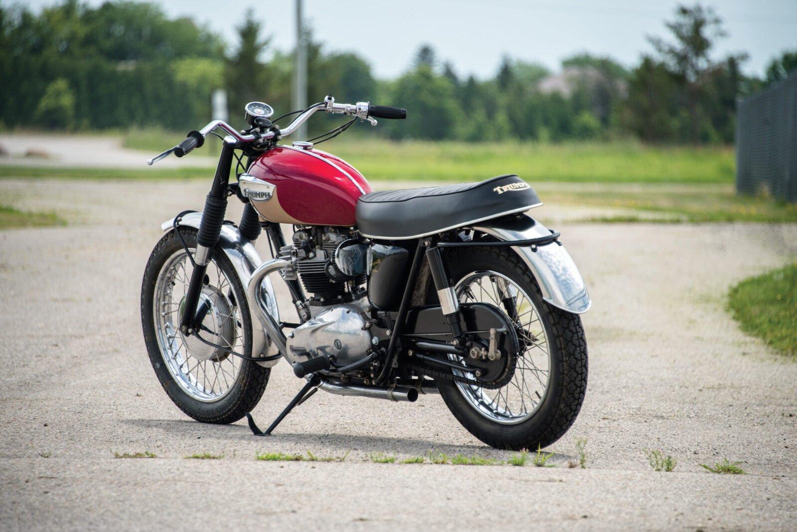 Triumph TT Special Rear