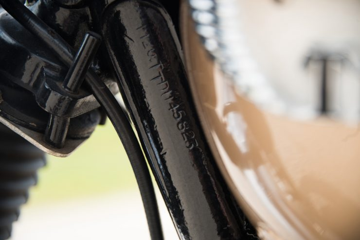 Triumph TT Special VIN Number
