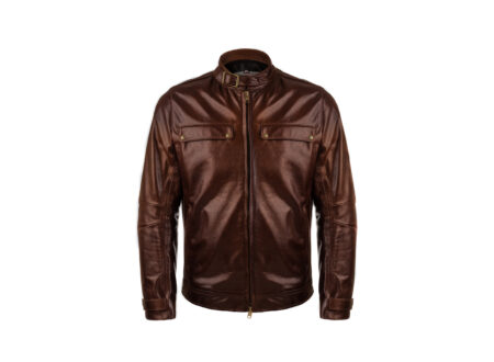 VKTRE Moto Co Heritage Leather Road Jacket