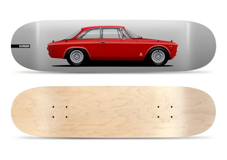 Vuvroom Skateboard Deck Alfa Romeo