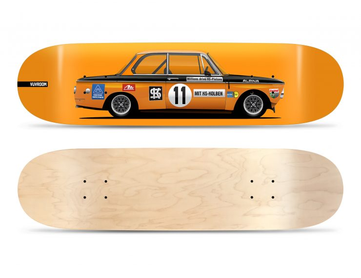 Vuvroom Skateboard Deck BMW 2002 1