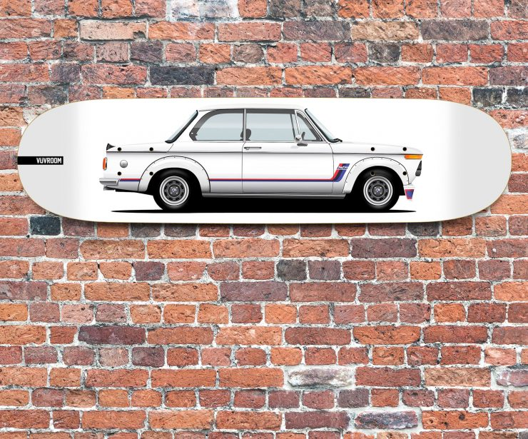 Vuvroom Skateboard Deck BMW 2002 Turbo