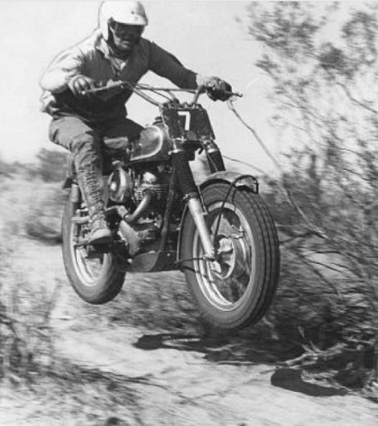 Mike Norton P11 desert race California