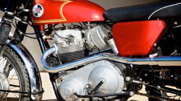 Norton P11 scrambler motorcycle