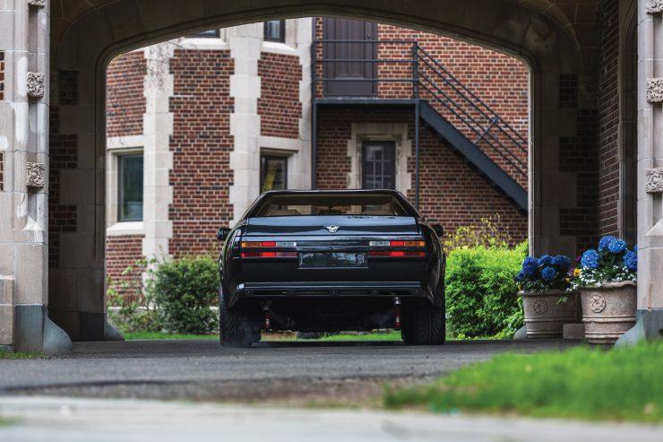 Aston Martin V8 Vantage Zagato Back