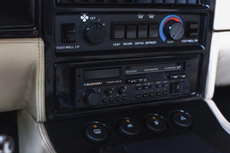 Aston Martin V8 Vantage Zagato Console