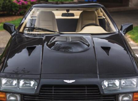 Aston Martin V8 Vantage Zagato Front