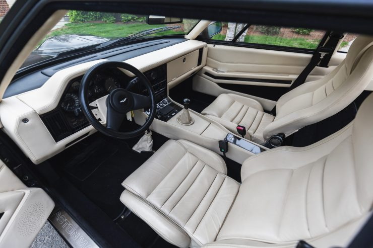 Aston Martin V8 Vantage Zagato Interior