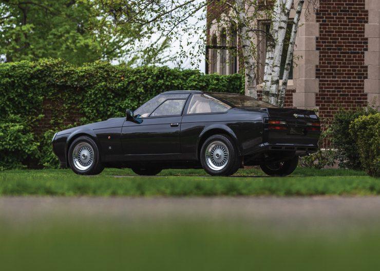 Aston Martin V8 Vantage Zagato Rear